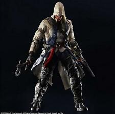 "Assassin's Creed III CONNOR KENWAY Play Arts Kai 10"" Action Figure Square Enix"