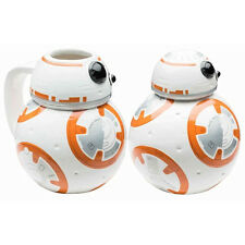 Star Wars The Force Awakens BB-8 Ceramic Coin Bank and Mug Set, NEW UNUSED