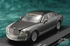 [KYOSHO ORIGINAL 1/64] BENTLEY MULSANNE (Black/Light gray)