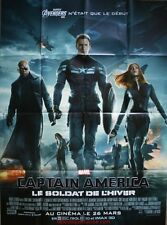 CAPTAIN AMERICA Le soldat de l'Hiver Affiche Cinéma / Movie Poster CHRIS EVANS