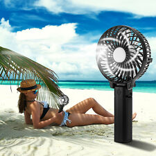 Handheld Fan Portable Folding Rechargeable Operated Personal Mini Cooling Fan
