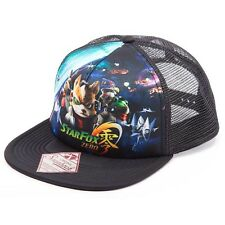 NEW OFFICIAL Nintendo Star Fox Zero 0 Baseball Cap Hat Snapback Trucker
