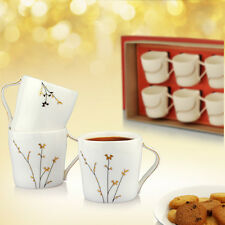 Buono Casa Contemporary White Cup Set - 6 Pcs