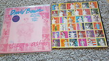 David Bowie - Up the hill backwards US 12'' Vinyl Maxi WITH STAMPS