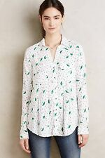 NIP Anthropologie Wynwood Buttondown by Maeve Umbrella Size 8 Sold Out