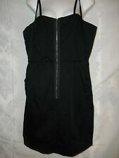 Ladies Size 16 Nicole Miller Cute Little Black Summer Resort Wear Dress NWOT