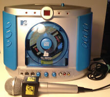 "Karaoke - MTV-""The Singing Machine"" SMGK-1000 -COMPLETE-DISCS_2 MICS & CABLES"