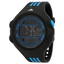Adidas Performance Black Dial Black and Blue Resin Mens Watch ADP6082