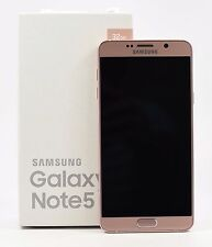 OPEN BOX- Samsung Galaxy Note 5 Pink SM-N920C (FACTORY UNLOCKED), 32GB