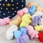 10 Pair Lovely Newborn Baby Girls Boys Soft Socks Mixed Color Unique LY89