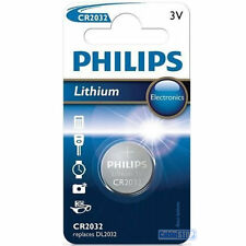 Philips CR2032 3V Lithium Button Battery Coin Cell DL2032 - EXPIRY 2025