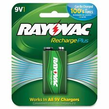 Rayovac Recharge Plus 9-volt Battery - RAYPL16041GENCT