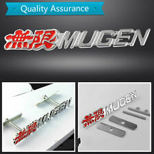 3D Mugen Infinite Metal Universal Car Tuning Front Grille Racing Emblem Badge