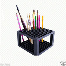 Mont Marte 96 Slot Paint Brush Pencils Holder Marker Pens Storage Stand Holds