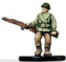 "AXIS AND ALLIES MINIATURES - (US) ""RED DEVIL"" CAPTAIN"