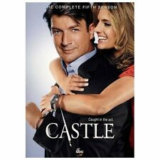 Castle: Season 5, DVD FORMAT, FREE SHIPPING, BRAND NEW.