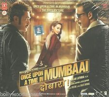 ONCE UPON A TIME IN MUMBAI DOBARA - NEW BOLLYWOOD SOUND TRACK CD SONGS