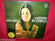 GINO MESCOLI Artistry in Strings LP 1971 ITALY MINT- SEXY NUDE Cover