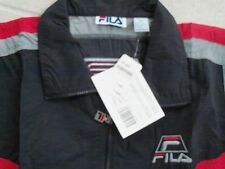 FILA  Light wt. Windbreaker  Sz:XXL, Red/Gray/Black  1996-1997 Vintage
