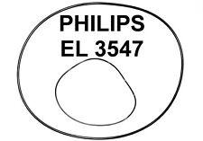 SET RIEMEN PHILIPS EL3547 TONBANDMASCHINE EL 3547 EXTRA STRONG FABRICKFRISCH NEU