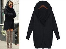 Fashion Women's Slim Long Coat Jacket Windbreaker Parka Outwear Cardigan Coat