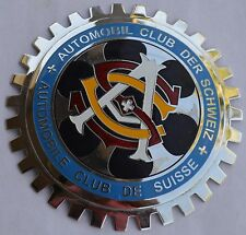 Swiss Auto Club - car grille badge
