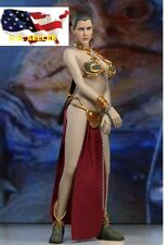 1/6 Star wars Princess Leia Organa Slave Outfit Set /Phicen hot toy IN STOCK USA