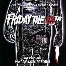 Friday The 13th - Complete Score - Limited Edition - Harry Manfredini