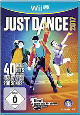 Just Dance 2017 (Nintendo Wii U, 2016, DVD-Box)