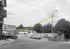 Bournemouth West Railway Station Photo. Branksome and Poole Line. L&SWR. (17)