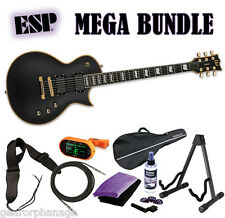 ESP LTD EC-1000 VB Vintage Black Deluxe Series EMG *NEW* FREE MEGA BUNDLE 1