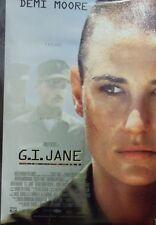 G.I. Jane Original 1997 Double Sided Movie Poster Demi Moore Viggo Mortensen