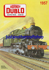 Hornby Dublo 1957 Bristol Castle A3 Large Size Poster Advert Shop Sign Leaflet