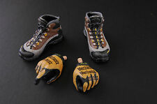 1/6 Scale MINI TIME US NAVY SEAL Battle of Abbas Ghar BOOTS / HANDS GLOVED