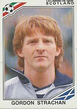 N°339 GORDON STRACHAN # SCOTLAND ECOSSE WORLD CUP MEXICO 1986 STICKER PANINI