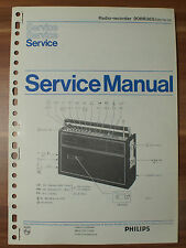 Radio 90RR365 Philips Service Manual Serviceanleitung