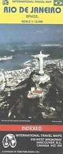 Map of Rio De Janerio, Brazil City Map by ITMB Maps