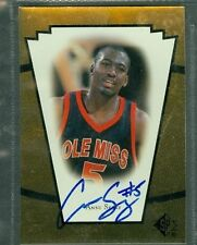 Ansu Sesay Basketball Auto 1998-99 Upper Deck '98 Signature Autograph Signed