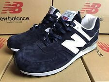 NEW BALANCE CLASSIC M576 DNW M576DNW 576 SHOES LEATHER UK 8.5 EUR 42.5 DARK NAVY