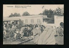 Morocco Maroc TANGER Tangiers Marche aux Bourricots used 1927 PPC