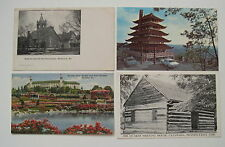 4  PA Misc. Postcards Montrose, Reading , Hershey, and Catawissa PA