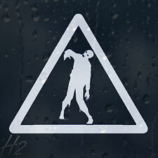 Zombie Outbreak Response Team Triangle Sign Car Decal Vinyl Sticker For Window