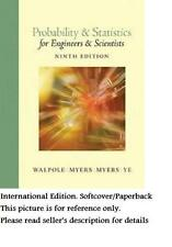 Probability and Statistics for Engineers and  9E by Ronald E. Walpole