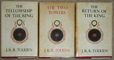 LORD OF THE RINGS ~ 3 VOLUME SET ~ 1960/61 EDITION ~ JRR TOLKIEN ~ HC LOT 2815