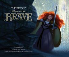 "NEW ""The Art of Brave"", Jenny Lerew, Pixar Hardcover Book"
