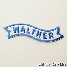 WALTHER - Firearms Manufacturer Logo Patch!