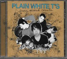 CD ALBUM 14 TITRES--PLAN WHITE T'S--EVERY SECOND COUNTS--2007
