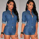 NEW Summer Women Bandage Bodycon Sexy Clubwear Romper Jumpsuit Dress Party Pants