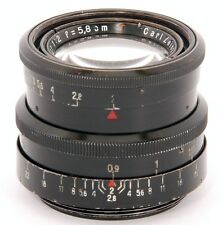 RARE!! Carl ZEISS Jena BIOTAR 1:2 f=5.8cm T PRIME/MACRO Lens M42 or DIGITAL fit