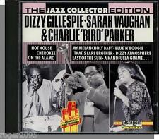 Dizzy Gillespie, Sarah Vaughan &  Charlie Parker - New 1991, 15 Song Jazz CD!